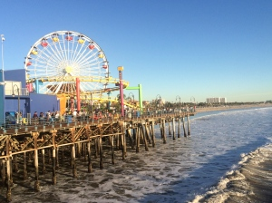 Santa Monica Pier was absolutely crazy!