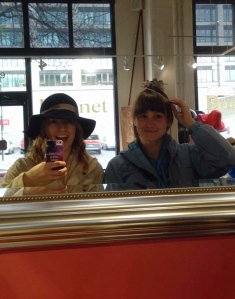 Isn't that hat flattering?