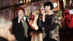 Mac and Phryne are often found drinking together and complaining about how stupid men can be. It's everything.